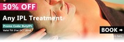 50% Off for Any One IPL Treatment