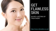 Get flawless skin in just 4 sitting of treatment